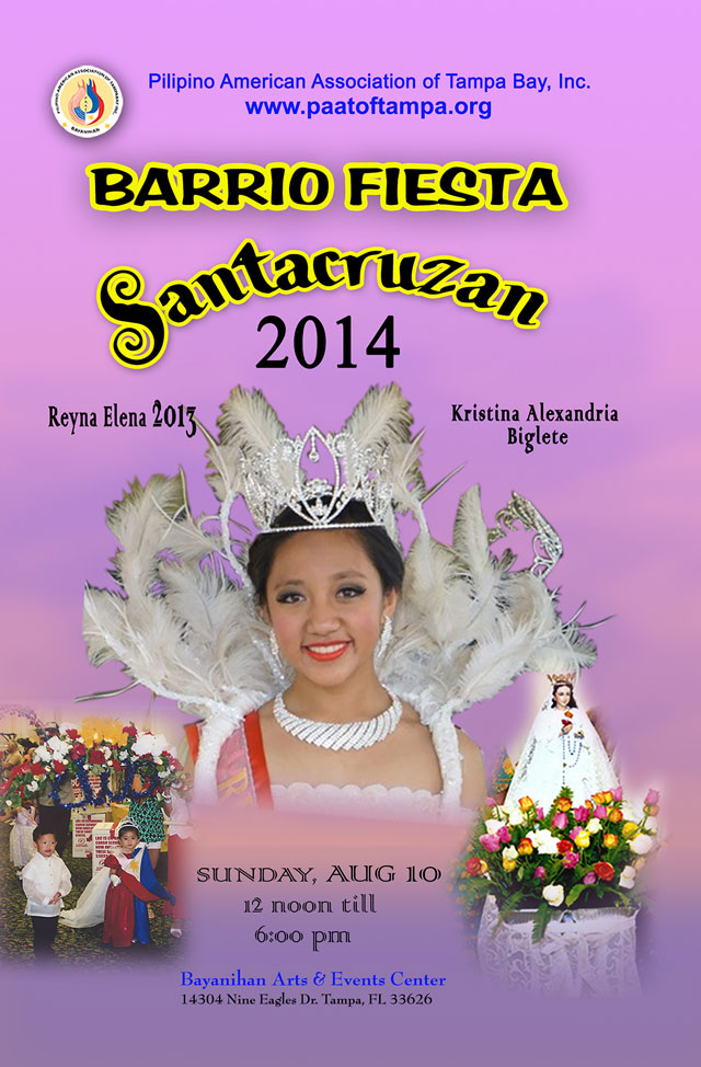 PAAT Barrio Fiesta 2014 @ Bayanihan Arts & Events Center