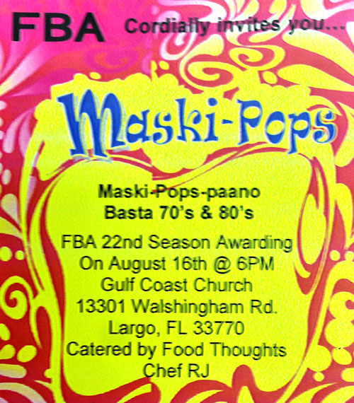 FBA Maski-Pops @ Gulf Coast Church
